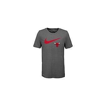 Nike Nba Chicago Bulls Drift Swoosh Logo Youth T-shirt