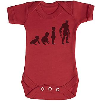 Baby Evolution To A Wolveine - Baby Bodysuit