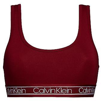 Calvin Klein Modern Flx Bralette - Dżem malinowy