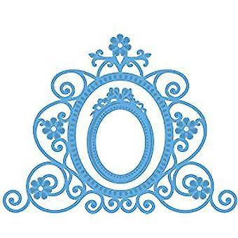 Marianne Design Flower Mirror Creatables sterven, blauw