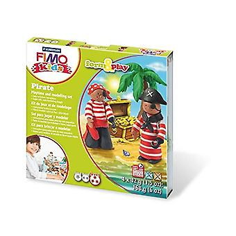 Staedtler 8034 12 LZ fimo Kids forma pirata e jogar Set