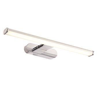 Endon Moda LED 1 Light Bathroom Parete Chrome Abs Plastica, Polipropilene sgelato IP44 76657