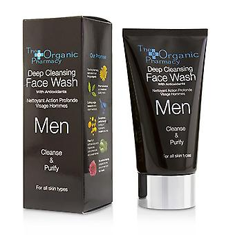 The Organic Pharmacy Men Deep Cleansing Face Wash - Cleanse & Purify - 75ml/2.5oz