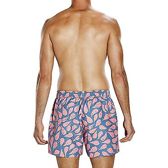 Speedo Mens Element FlowVintage 14-quot; Swim Swimming Pool Leisure Shorts - Bleu