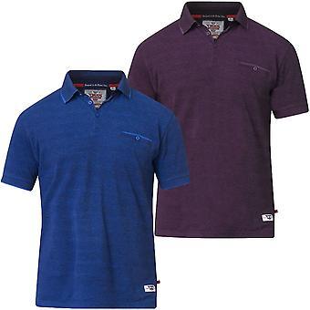 Duke D555 Mens Brell Big Tall King Size Short Sleeve Casual Polo Shirt Tee Top