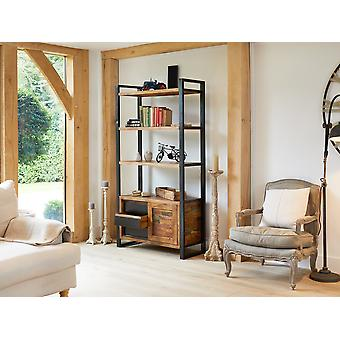 Urban Chic Large Bookcase with Storage - Baumhaus
