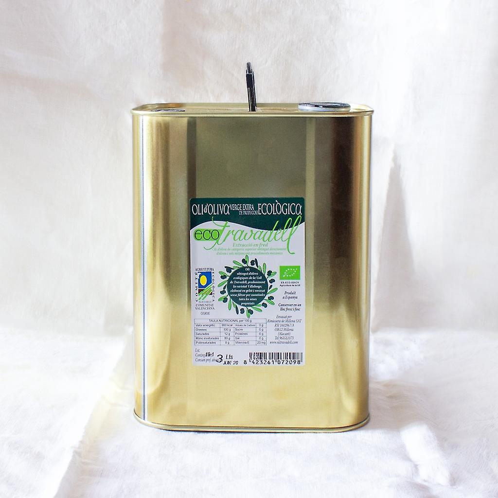 Aceite de Oliva V.E. Eco Travadell  3 L