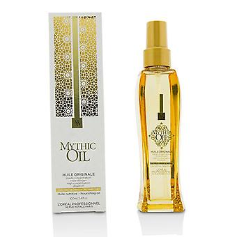 L'oreal Professionnel Mythic Oil Nourishing Oil With Argan Oil (all Hair Types) - 100ml/3.4oz