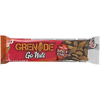 Grenade Carb Killa Go Nuts Vegan Protein Bar - 15 Bars - Spicy Chili