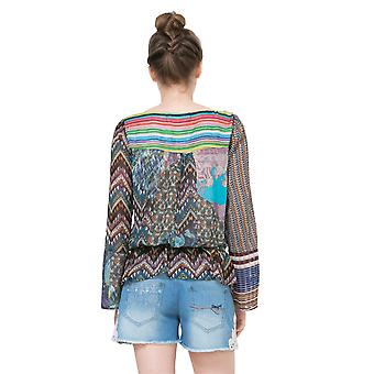 Desigual Women-apos;s Long Sleeved Lena Gypsy Blouse