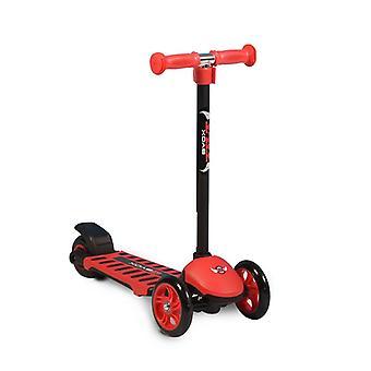 Byox Tilt til løbehjul til børn, 3 PU hjul, ABEC-5 kuglelejer, bagbremse, aluminium