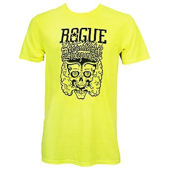 Rogue Dreamland keltainen T-paita