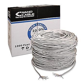 UTP Catégorie 5e Câble réseau rigide NANOCABLE ANEAHE0087 305 m