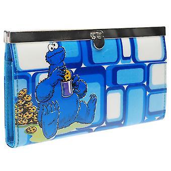 Character Girls Street Cookie Monster Wallet Junior