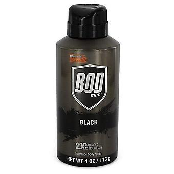 Bod Man Black Body Spray By Parfums De Coeur   526520 120 ml