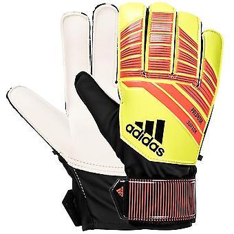 Adidas performance Junior Predator fodbold Sports målmand handsker-gul