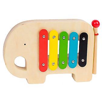 Petit Koláž Dřevěný Jumbo Xylofon