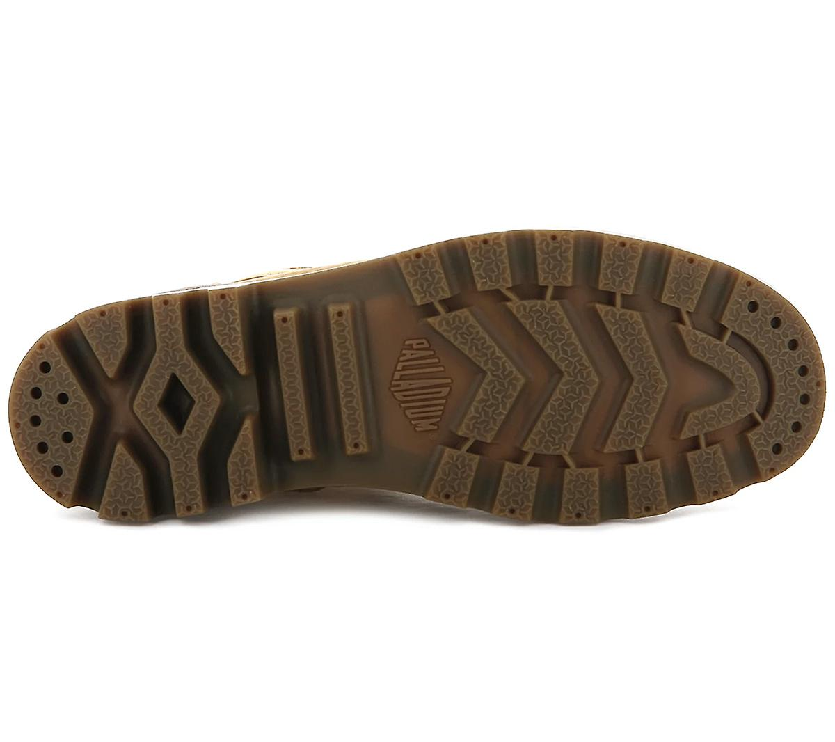 Palladium Pampa Hi Zip WL W 95982-717-M Women's Boots Brown Sneakers Sports Shoes