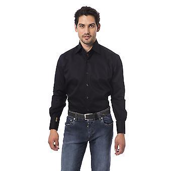 Men's Blue Billionaire Long Sleeve Shirts