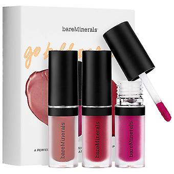 bareMinerals Go Bold or Go Bare Matte Liquid Lipcolor Trio