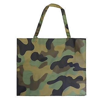 evoe Shopper Bag Camouflage 24 hours bag buddy 100 % Baumwolle, Beschichtung PVC, Futter100 % Polyester.