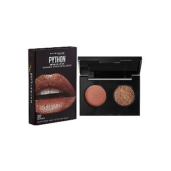 Maybelline Python Metallic Lip Kit Pulver och Lip Color 1.2g Fatal #40