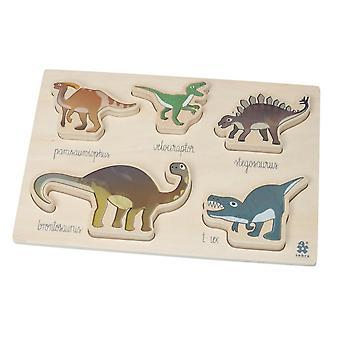 塞布拉 - 块状拼图 - 恐龙
