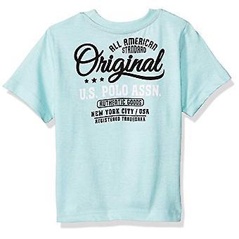 米国ポロアスンボーイズ&アポ;幼児半袖クルーネックグラフィックTシャツ、マールド..