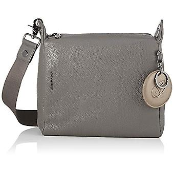 Mandarin Duck Mellow Leather Grey Women's Bag Strap (Smoked Pearl) 25.5x24x10 cm (W x H x L)