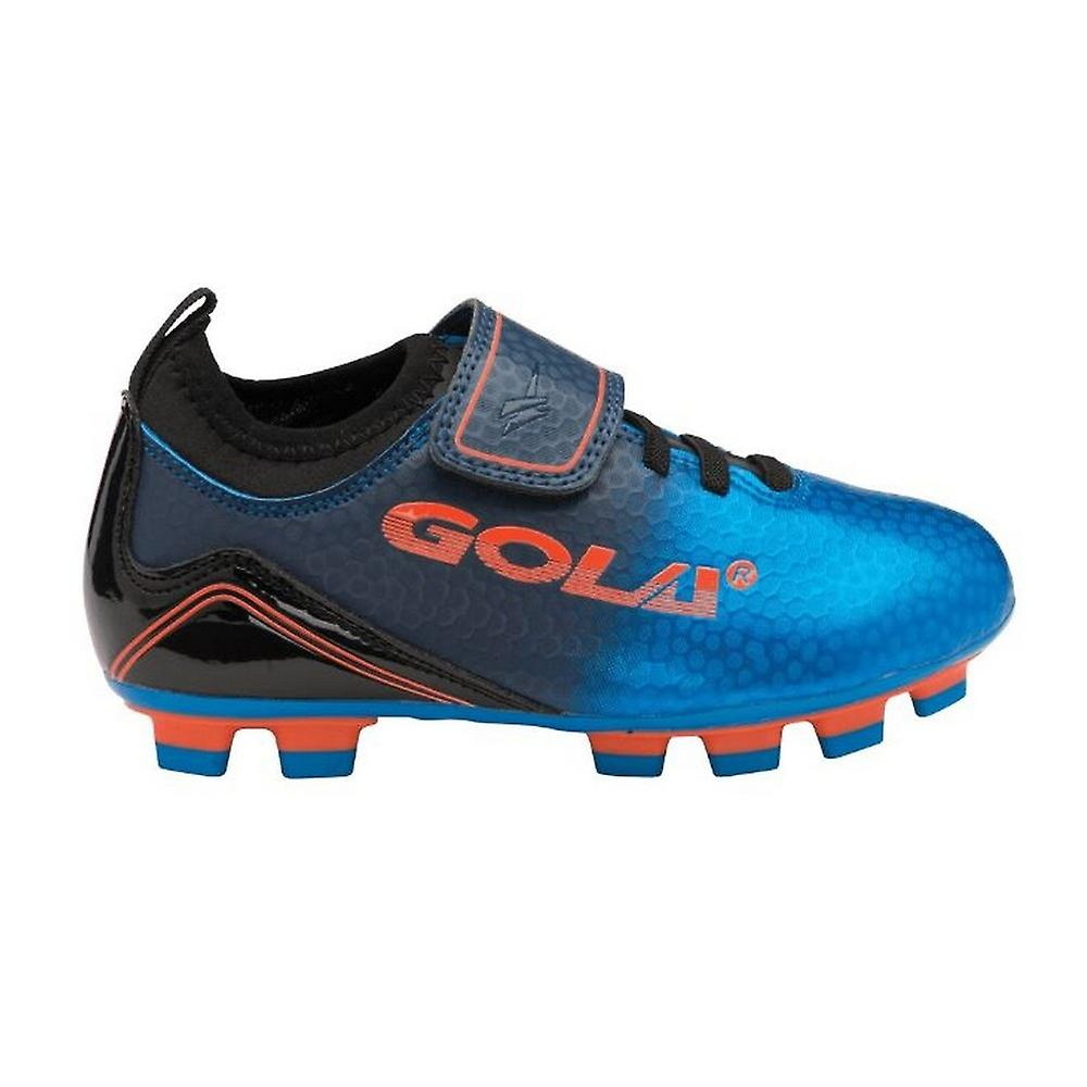 Gola Childrens/kids Apex 2 Blade Qf Touch Fastening Football Training Shoe