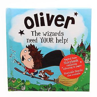 Geschichte & Heraldik Magischer Name Storybook - Oliver