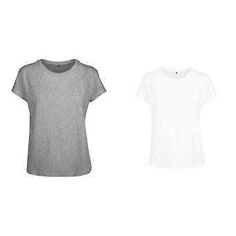 Build Your Brand Womens/Ladies Box T-Shirt