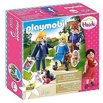 Playmobil 70258 Clara, Sesemann and Miss Rottenmeier Heidi 79PC Playset