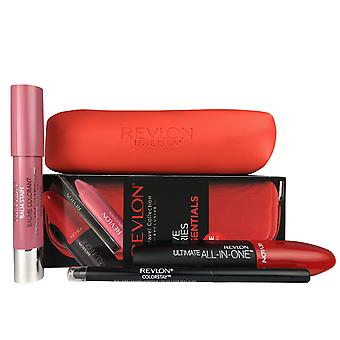 Love is on essentials travel set for women by revlon mascara lip balm eye liner