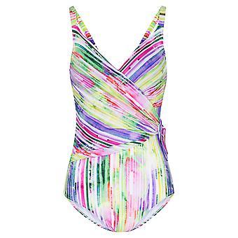 Rösch 1205553-16397 Women's Stripe Multicoloured Swimsuit
