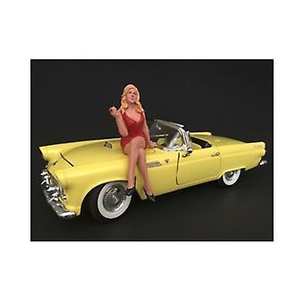 70's Style Figur IV Für 1:18 Maßstabsmodelle von American Diorama