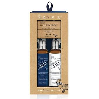 Baylis & Harding Fuzzy Duck Set 3 pieces of ginger and file for men