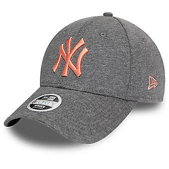 New Era 9Forty Women's Cap - JERSEY NY Yankees graphite peach