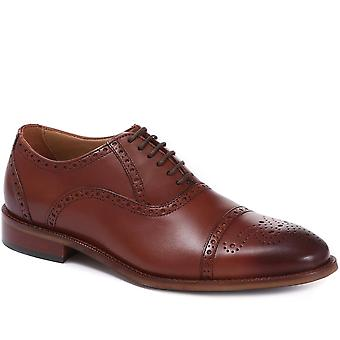 Jones Bootmaker Mens Maynard Leather Oxford Brogue