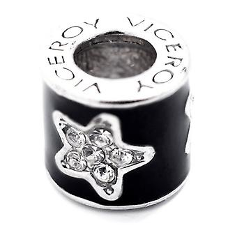 Ladies'Beads Viceroy VMM0304-25 (1 cm) Black Silver (1 cm)