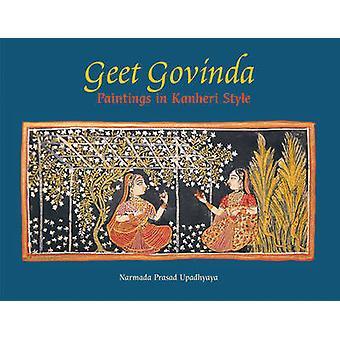 Geet Govinda - Paintings in Kanheri Style by Narmada Prasad Upadhaya -