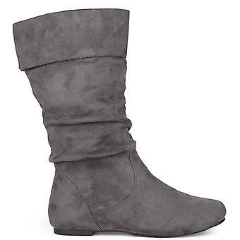 Brinley Co naisten Chely-3 manteli Toe polvisukat muoti kengät