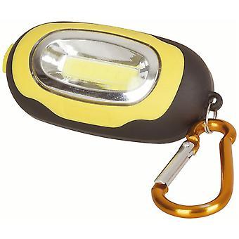 TechBrands Mini Magnetic COB Carabiner Hook Light (1W)