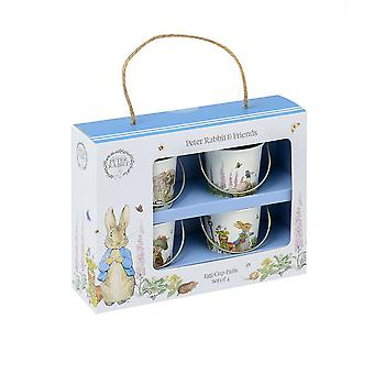Stow Green Peter Rabbit Classic Set De 4 tasses d'oeufs