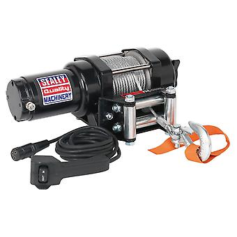 Sealey Atv1135 ATV/Quad Recovery Winch 1135Kg vedení na lince 12V