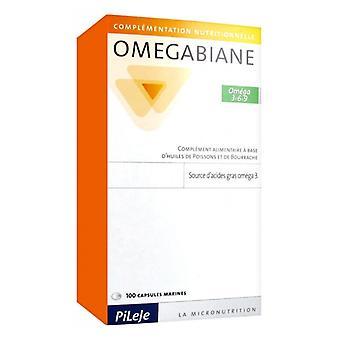 Pileje Omegabiane 3 6 9 (omegas) 100 Capsules