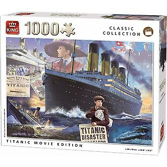 King Jigsaw Puzzle - Classic Collection Titanic Movie Edition, 1000 Piece