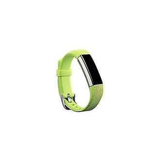 Replacement Wristband Bracelet Strap Wrist Band for Fitbit Alta Classic Buckle [Lime Green] BUY 2 GET 1 FREE