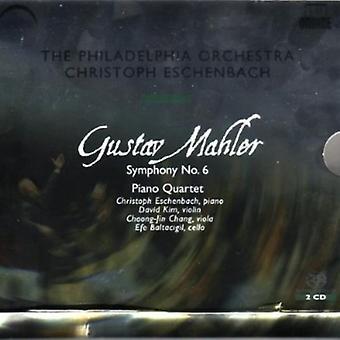 A. Mahler - Mahler: Symphony No. 6; Piano Quartet [SACD] USA import