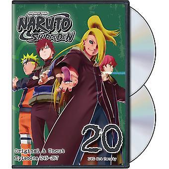 Naruto Shippuden Uncut Set 20 [DVD] USA import